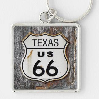 テキサス州のルート66 キーホルダー