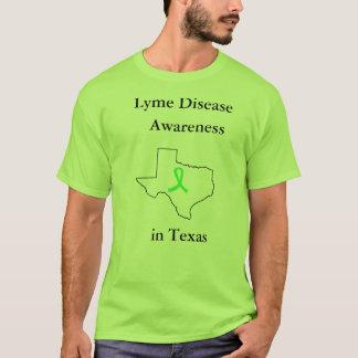 テキサス州のワイシャツのライム病の認識度 Tシャツ