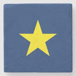 テキサス州の共和国の旗 ストーンコースター