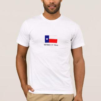 テキサス州の共和国-人の合われたTシャツ Tシャツ