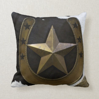 テキサス州の単独星のアメリカ人のMoJoの枕 クッション