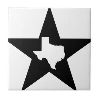 テキサス州の単独星の州米国のカスタムインク タイル