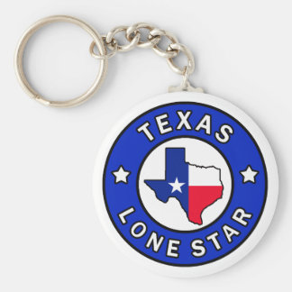 テキサス州の単独星のkeychain キーホルダー