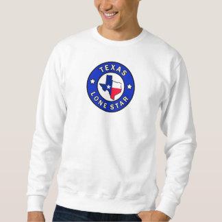 テキサス州の単独星 スウェットシャツ