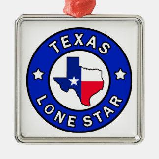 テキサス州の単独星 メタルオーナメント