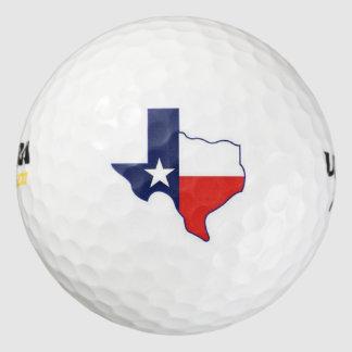 テキサス州の地図2 ゴルフボール
