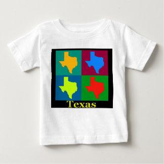 テキサス州の地図 ベビーTシャツ