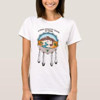 テキサス州の女性の基本的なTシャツのLipanアパッシュの種族 Tシャツ