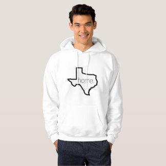 テキサス州の家のフード付きスウェットシャツ パーカ