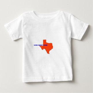 テキサス州の家の甘い家 ベビーTシャツ