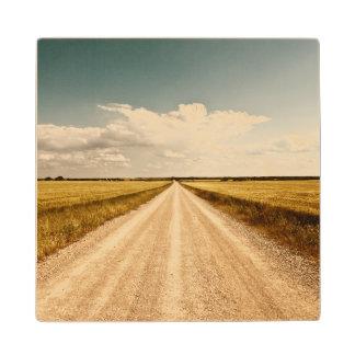 テキサス州の小麦畑 ウッドコースター