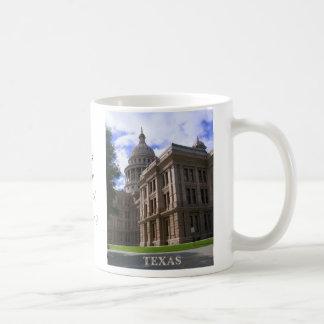 テキサス州の州の国会議事堂の建物 コーヒーマグカップ