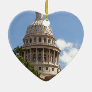 テキサス州の州の国会議事堂2 セラミックオーナメント