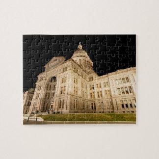 テキサス州の州の国会議事堂、都心のオースティン、テキサス州 ジグソーパズル
