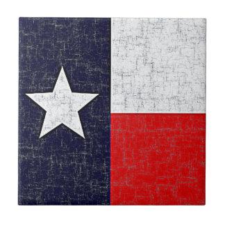 テキサス州の州の旗のタイル タイル
