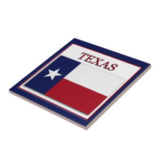 テキサス州の州の旗のデザインのタイル タイル