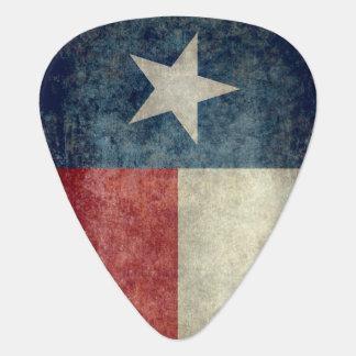 テキサス州の州の旗のヴィンテージのレトロのスタイルのギターピック ギターピック