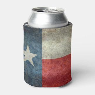 テキサス州の州の旗のヴィンテージのレトロのスタイルのクーラーボックス 缶クーラー