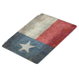 テキサス州の州の旗のヴィンテージのレトロのスタイルのipadの場合 iPadスマートカバー