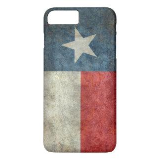 テキサス州の州の旗のヴィンテージのレトロのスタイルのiPhone 7の場合 iPhone 8 Plus/7 Plusケース
