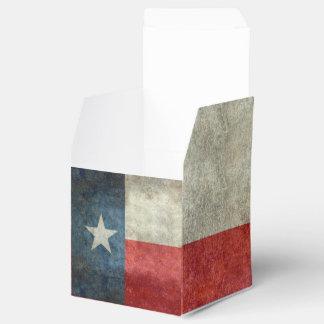 テキサス州の州の旗のヴィンテージのレトロの結婚式の引き出物箱 フェイバーボックス