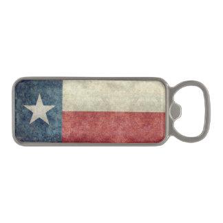 テキサス州の州の旗のヴィンテージ磁気栓抜き マグネット栓抜き