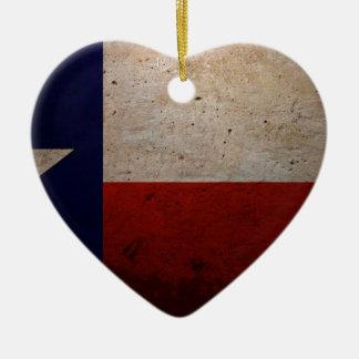 テキサス州の州の旗 セラミックオーナメント