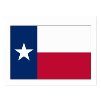 テキサス州の州の旗 ポストカード
