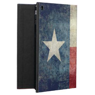 テキサス州の州の旗、ヴィンテージのレトロのスタイルのiPadの場合 iPad Airケース