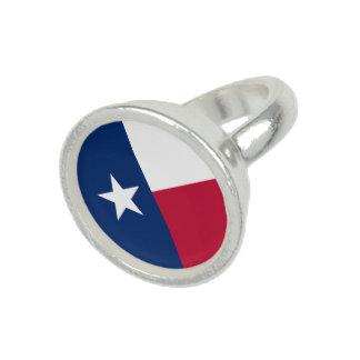 テキサス州の州の旗-高品質で確実な色 指輪