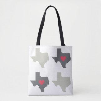 テキサス州の州中立パターントートバック トートバッグ