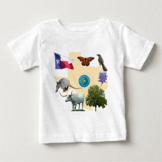 テキサス州の州記号 ベビーTシャツ