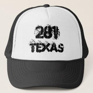 テキサス州の市外局番のトラック運転手の帽子 キャップ