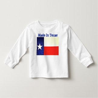 テキサス州の幼児のTシャツで作られる トドラーTシャツ