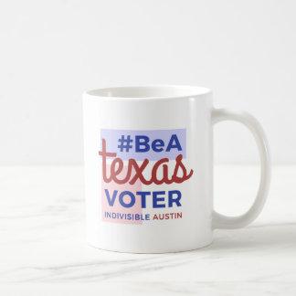 テキサス州の投票者のコーヒー・マグがあって下さい コーヒーマグカップ