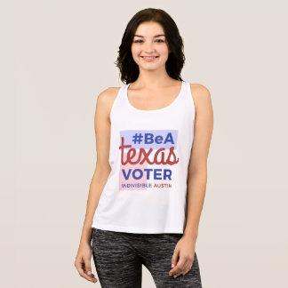 テキサス州の投票者の女性のタンクがあって下さい タンクトップ