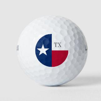 テキサス州の旗のゴルフ・ボールの彼または彼女のための一定のギフトのパック ゴルフボール