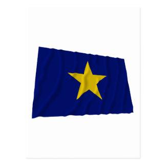 テキサス州の旗の共和国 ポストカード