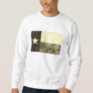 テキサス州の旗の古いスケッチ スウェットシャツ