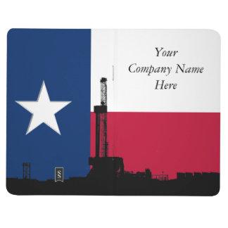 テキサス州の旗の石油開発の装備 ポケットジャーナル