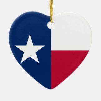 テキサス州の旗 セラミックオーナメント