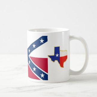 テキサス州の旗、テキサス州の共和国の共和国の… コーヒーマグカップ