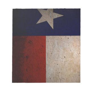 テキサス州の旗 ノートパッド