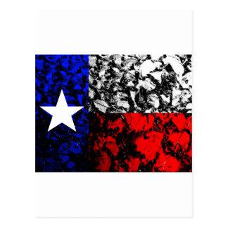 テキサス州の旗 ポストカード