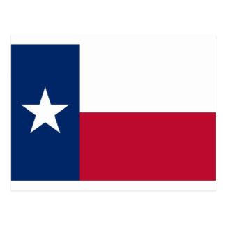 テキサス州の旗 葉書き