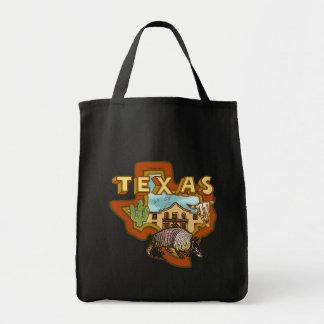 テキサス州の暗いトートバック トートバッグ