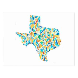 テキサス州の水彩画のカスタマイズ可能な郵便はがき ポストカード