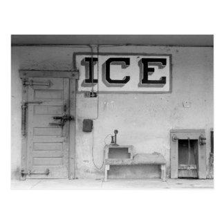 テキサス州の氷House 1939年 ポストカード