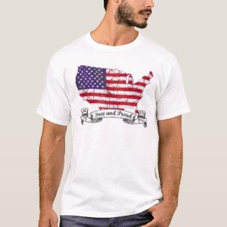 テキサス州の独立記念日 Tシャツ
