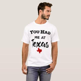 テキサス州の男性ワイシャツで私がありました Tシャツ